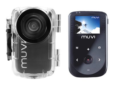 VEHO 1080p MUVI HD NPNG Action Camcorder Bundle, VCC005MUVIHDNPNG