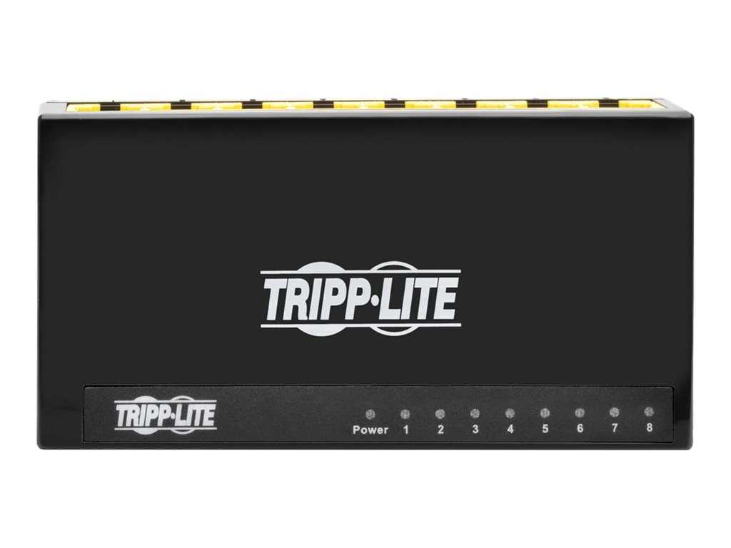 Tripp Lite 8-Port Gb Plastic Desktop Switch, Instant Rebate - Save $2, NG8P