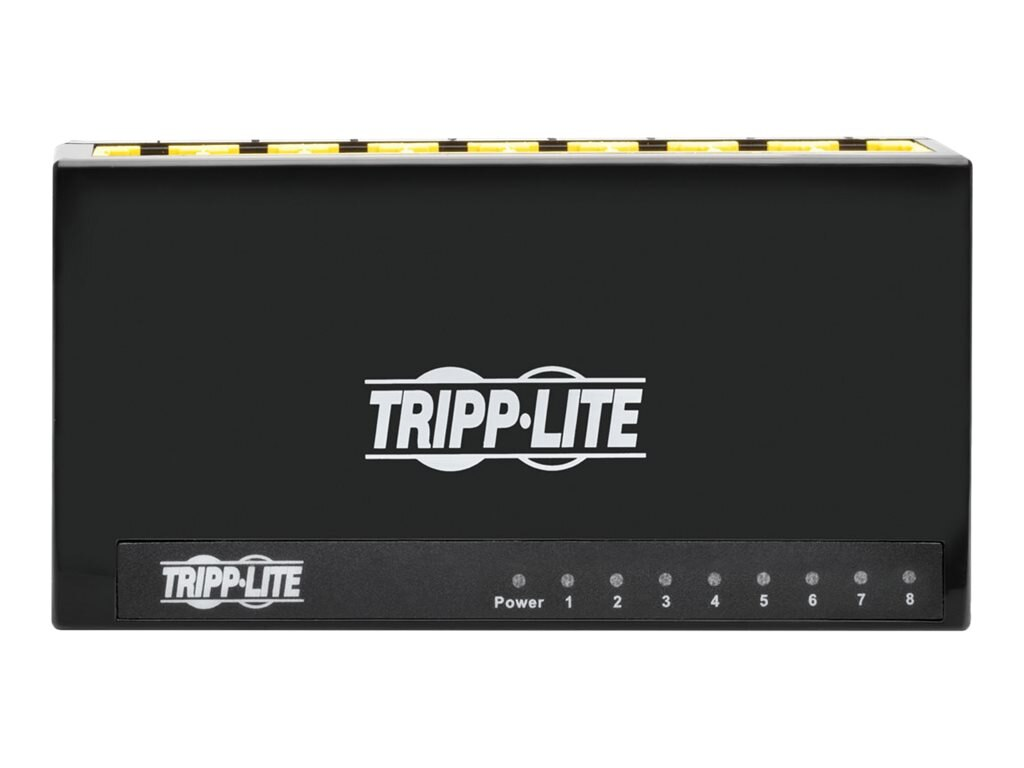 Tripp Lite 8-Port Gb Plastic Desktop Switch, Instant Rebate - Save $2