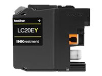 Brother Yellow LC20EY Super High Yield Ink Cartridge for MFC-J5920DW