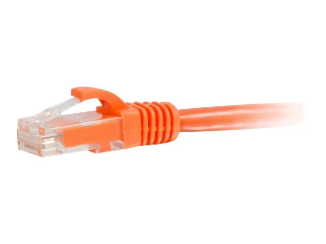 C2G Cat5e Snagless Unshielded (UTP) Network Patch Cable - Orange, 8ft, 00447