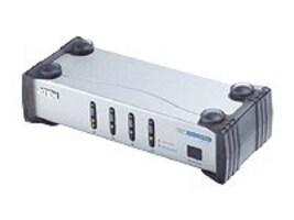 Aten 4-Port DVI Video Switch with Audio, VS461, 6732173, Switch Boxes - AV