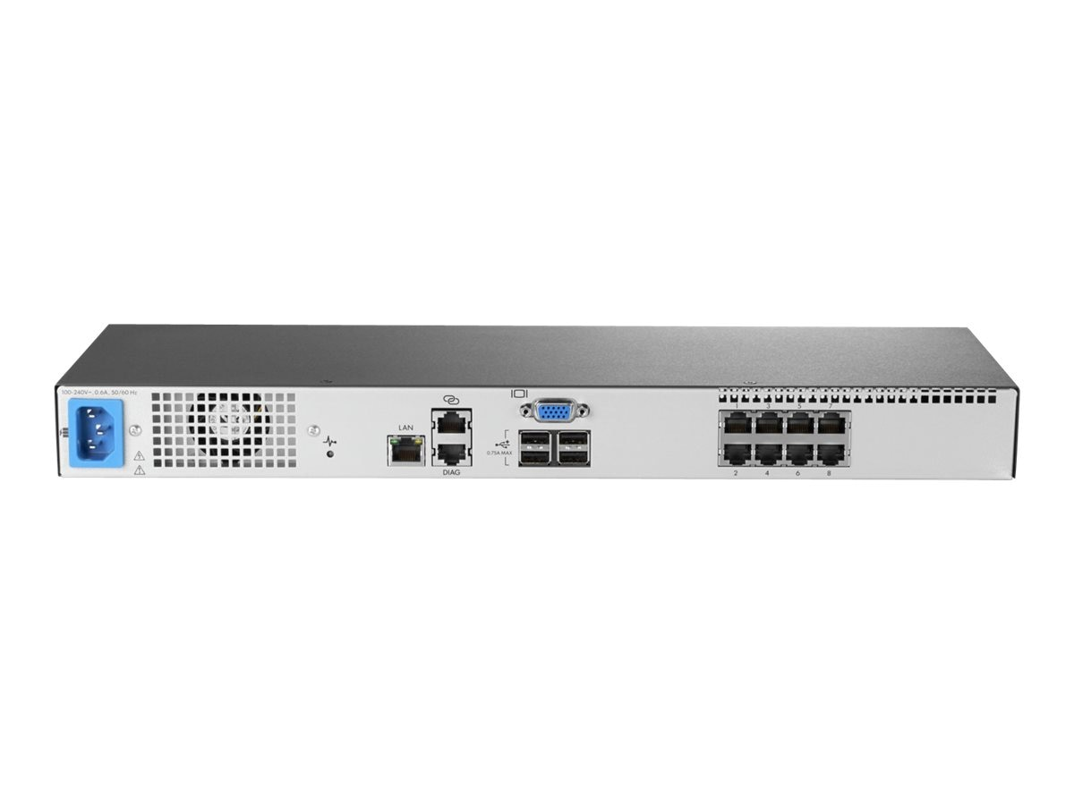 HPE G3 KVM Console Switch 0x2x16, AF653A, 21486505, KVM Switches