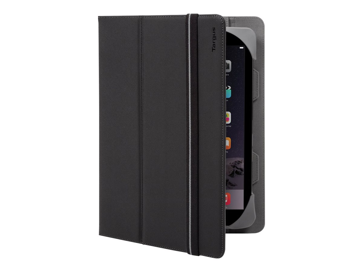 Targus Fit-N-Grip Universal 360 Case for 9-10 Tablets, Black, THZ592US