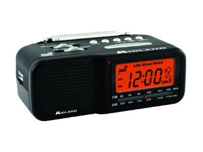 Midland Radio All Hazard Weather Radio, WR11, 15559405, Two-Way Radios