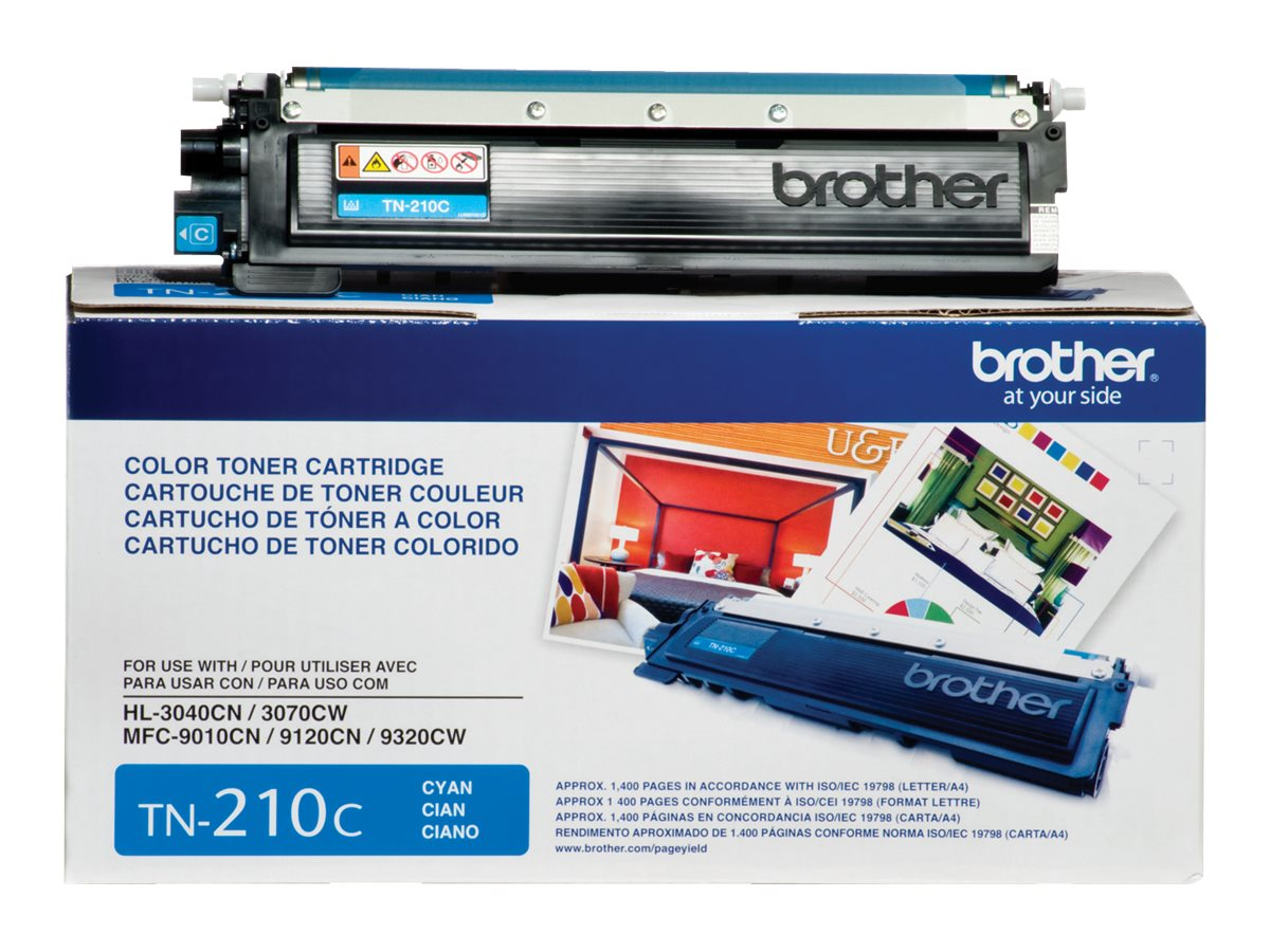 Brother Cyan TN210C Toner Cartridge