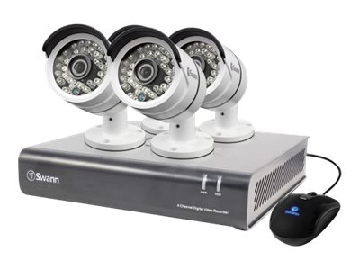 Swann 4 Channel 1080p Digital Video Recorder and 1TB HDD, 4x PRO-A855 Cameras