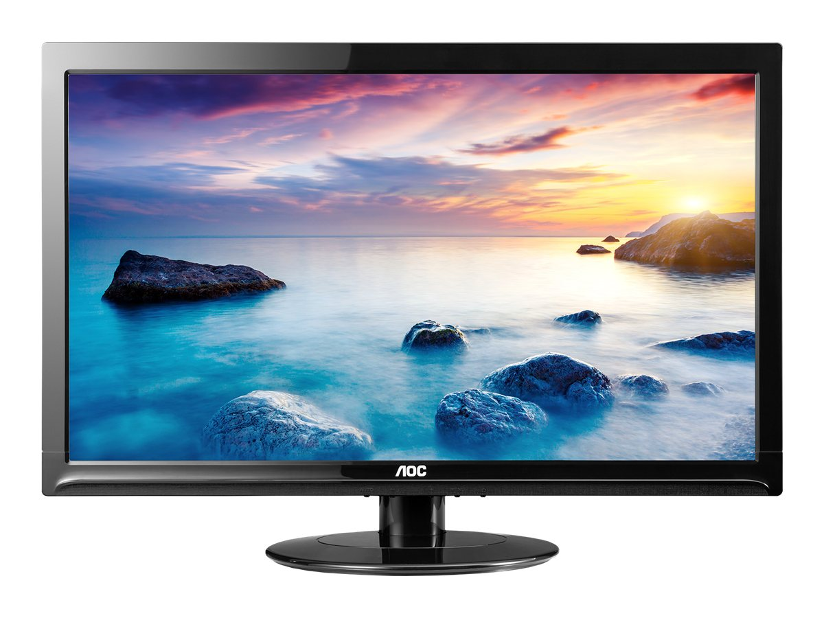 AOC 24 E2425SWD Full HD LED-LCD Monitor, Black, E2425SWD, 16425003, Monitors - LED-LCD