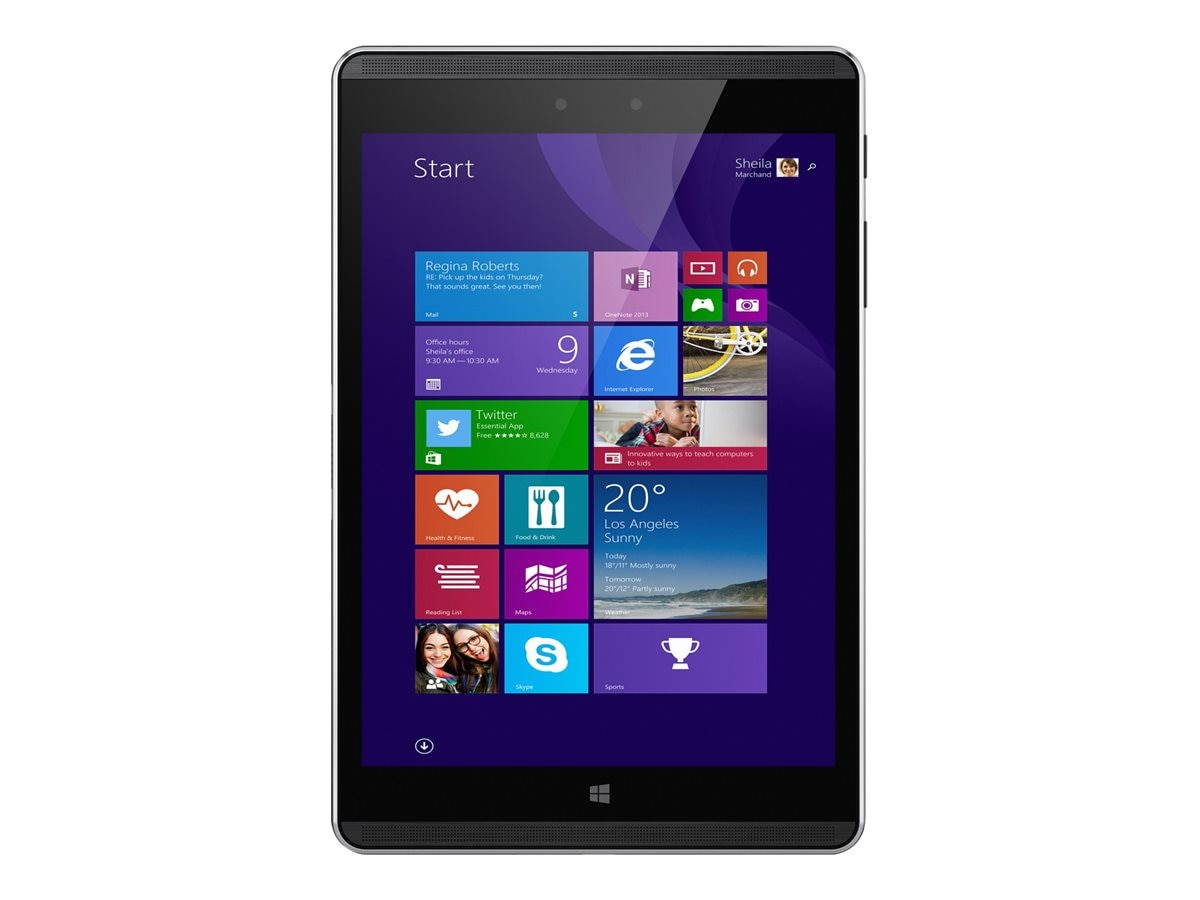 HP Pro Tablet 608 G1 1.44GHz processor Windows 10 Pro 64-bit Edition, P2C11UT#ABA