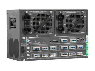 Cisco Catalyst 4503-E Switch Chassis, 7U Rackmountable, WS-C4503-E, 8192975, Network Switches