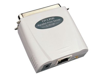 TP-LINK 1-Port Parallel Print Server w  Mail Alert iPP SMB & Post, TL-PS110P, 13245277, Network Print Servers