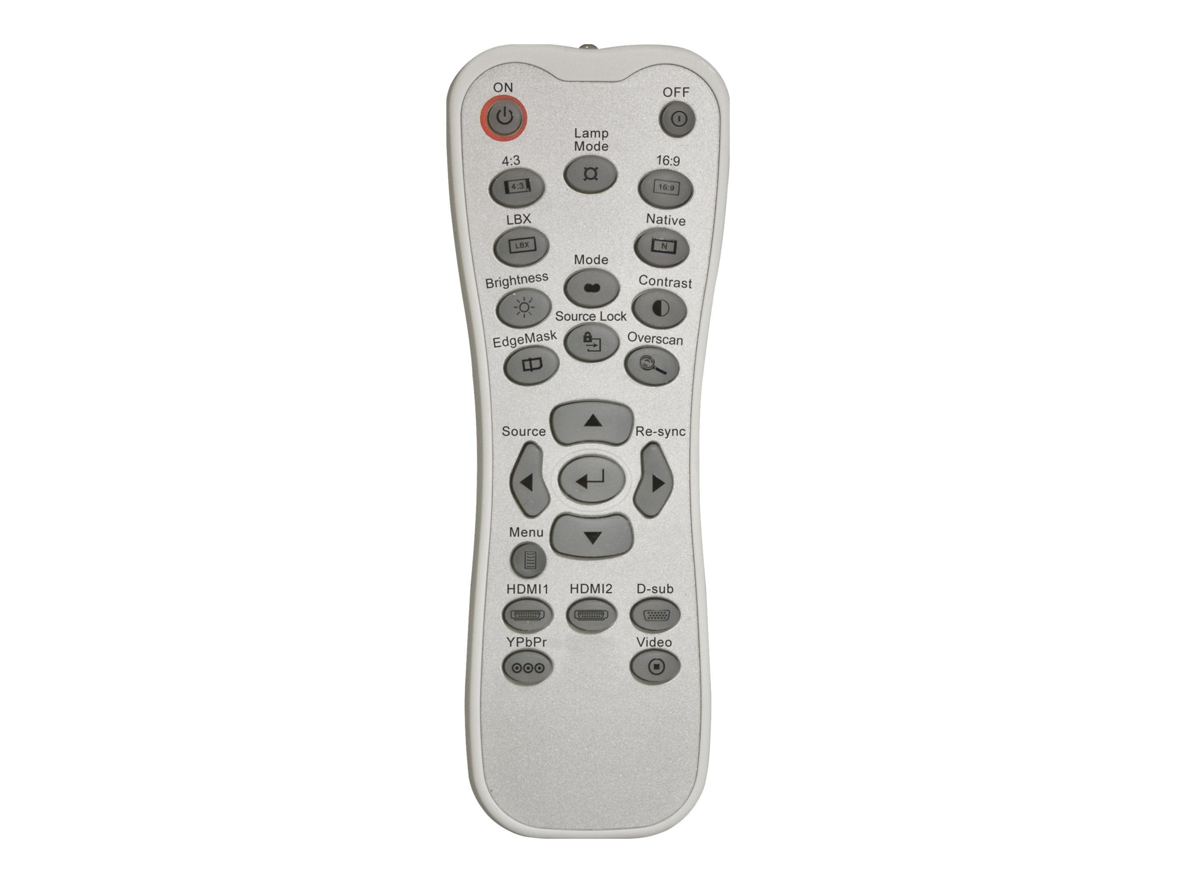 Optoma Backlit Remote Control for HD20, HD22, HD23, HD200X, HD2200, HT1081, BR-3042B, 15393708, Projector Accessories