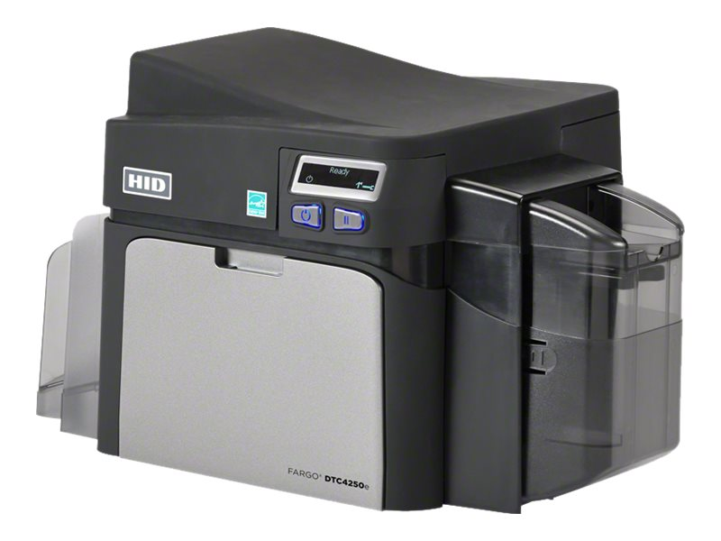 Fargo Electronics DTC4250e Single-side ID Card Printer, 052000, 31284632, Printers - Card