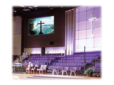 Draper Cineperm Fixed Projection Screen, M1300, 16:9, 92, 250022, 6247071, Projector Screens