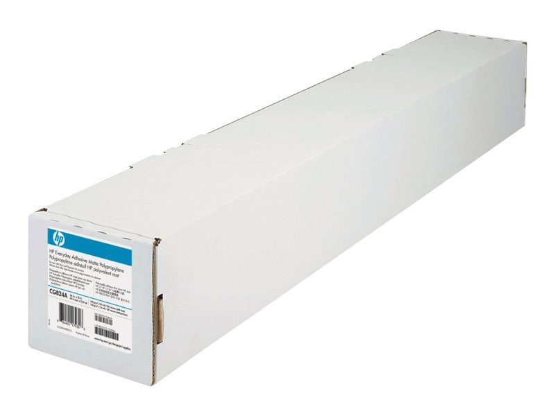HP 36 x 75' Everyday Adhesive Matte Polypropylene Paper (2-pack)