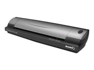 Ambir ImageScan Pro 490i Duplex ID Card & Document Scanner w AmbirScan, DS490-AS, 10911641, Scanners