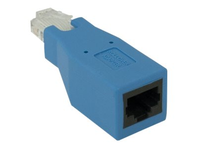 CradlePoint Rollover M F Adapter for RJ45 Ethernet Cable, Blue, 170662-000, 24629452, Adapters & Port Converters