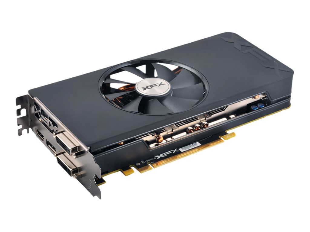 Pine XFX Radeon R7 370 PCIe Graphics Card, 2GB GDDR5, R7370P2SF5, 26839007, Graphics/Video Accelerators