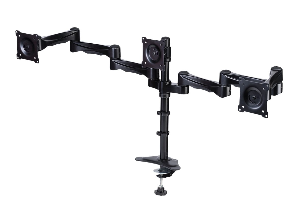 DoubleSight Triple Monitor Flex Arm, Swing Style, DS-324PS, 15682091, Stands & Mounts - AV