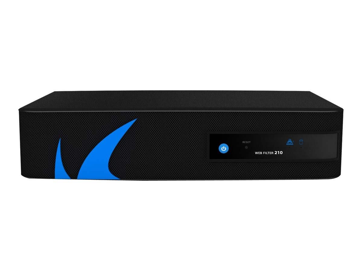 Barracuda Web Security Gateway 210 w 1-year EU+IR, BYF210A11, 13594346, Network Security Appliances
