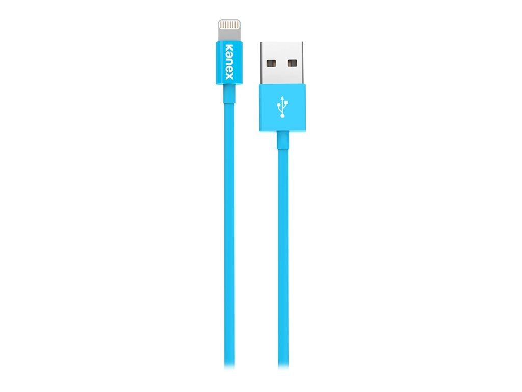 Kanex Lightning to USB Cable, Blue, 4ft, K8PIN4FBL, 17755936, Cables