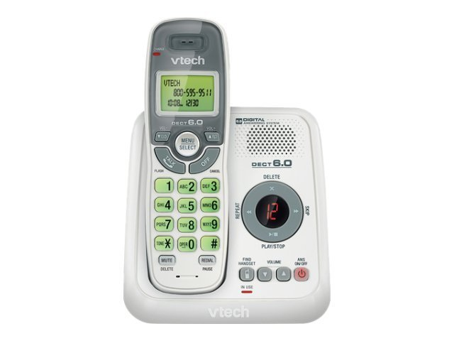 Vtech Cordless Answering System with Caller ID Call Waiting, CS6124, 12555943, Telephones - Consumer