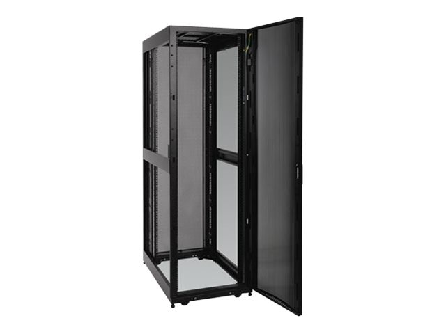 Tripp Lite 42U SmartRack Deep and Wide Premium Enclosure, Doors, Side Panels, SR42UBDPWD