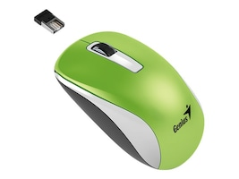 Kye NX-7010 Wireless 2.4GHz Optical Mouse 1600dpi, Green, 31030114108, 32596806, Mice & Cursor Control Devices