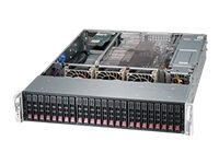 Supermicro SuperChassis 216BE16 2U RM (2x)Intel AMD 24x2.5 HS Bays 7xExpansion Slots 3xFans 2x920W RPS, CSE-216BE16-R920UB, 15274151, Cases - Systems/Servers