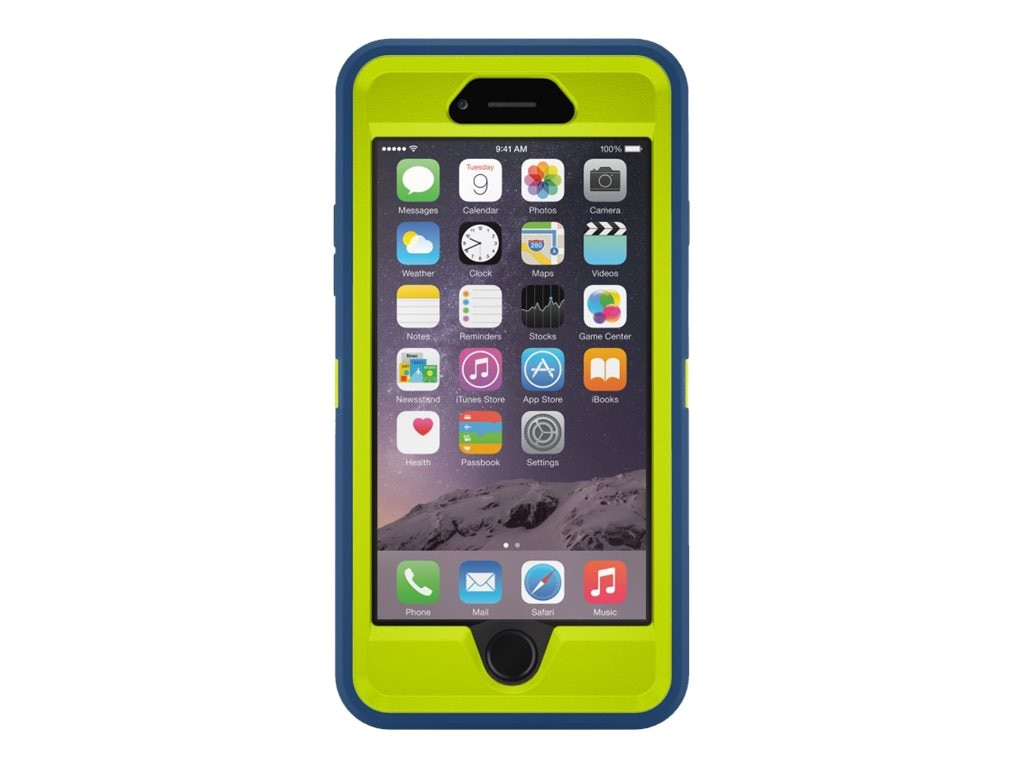 OtterBox Defender Series for iPhone 6 4.7, Electric Indigo, 77-50213, 17786071, Carrying Cases - Phones/PDAs