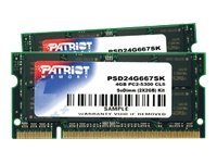 Patriot Memory 4GB PC2-5300 DDR2 SDRAM SODIMM Kit