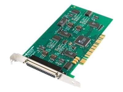 Quatech 4-port Non-Isolated Midport Universal PCI Card, 3PCIU4, 13330674, Network Adapters & NICs