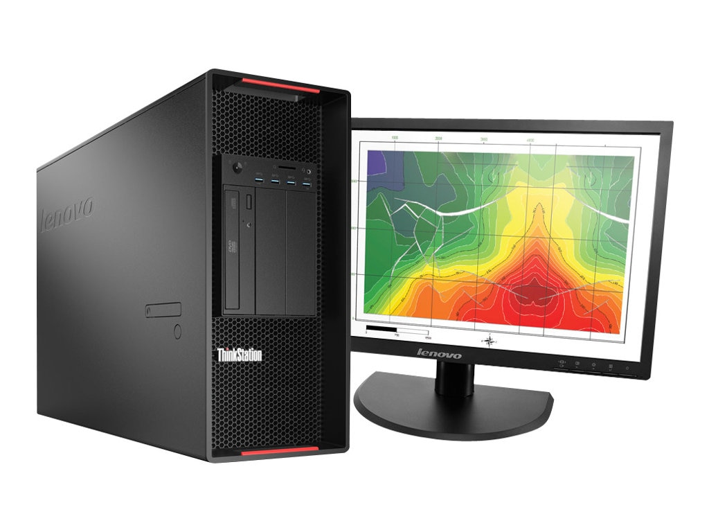 Lenovo TopSeller ThinkStation P900 Tower Xeon 10C E5-2650 v3 2.3GHz 16GB 256GB SSD DVD+RW GbE W7P64-W10P