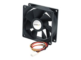 StarTech.com CPU Case Coolnig Fan Motor, 6x2cm with TX3 Connectors, FAN6X2TX3, 206508, Cooling Systems/Fans