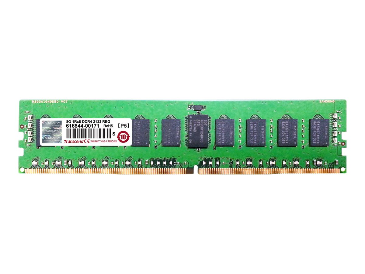Transcend 8GB PC4-17000 288-pin DDR4 SDRAM RDIMM, TS1GHR72V1Z