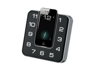GPX Clock Radio for iPod iPhone, ICP391B, 15287382, Clock Radios