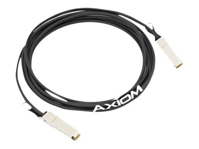Axiom 40GBASE-CR4 QSFP+ Passive Direct Attach Cable, 3m, 470-AAGI-AX