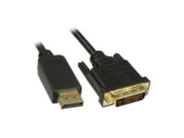 Unirise DVI Digital Dual Link to Displayport Cable, M-M, 15ft, DVIDP-15F-MM, 15986968, Cables