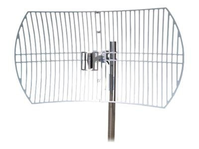 TP-LINK 2.4GHz 24dBi Directional Grid Parabolic Antenna, N Female connector, Weather Resistant