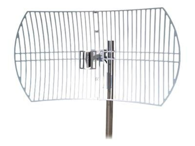 TP-LINK 2.4GHz 24dBi Directional Grid Parabolic Antenna, N Female connector, Weather Resistant, TL-ANT2424B, 13732462, Wireless Antennas & Extenders