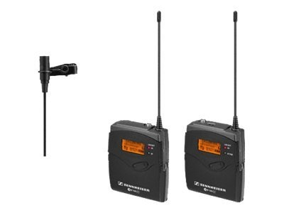 Sennheiser Wireless Microphone Kit with EK 100 G3 Diversity Receiver Frequency Band A