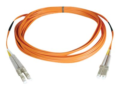 Tripp Lite Fiber Patch Cable, LC-LC, 50 125, Duplex, Multimode, Orange, 6m, N520-06M, 10199738, Cables