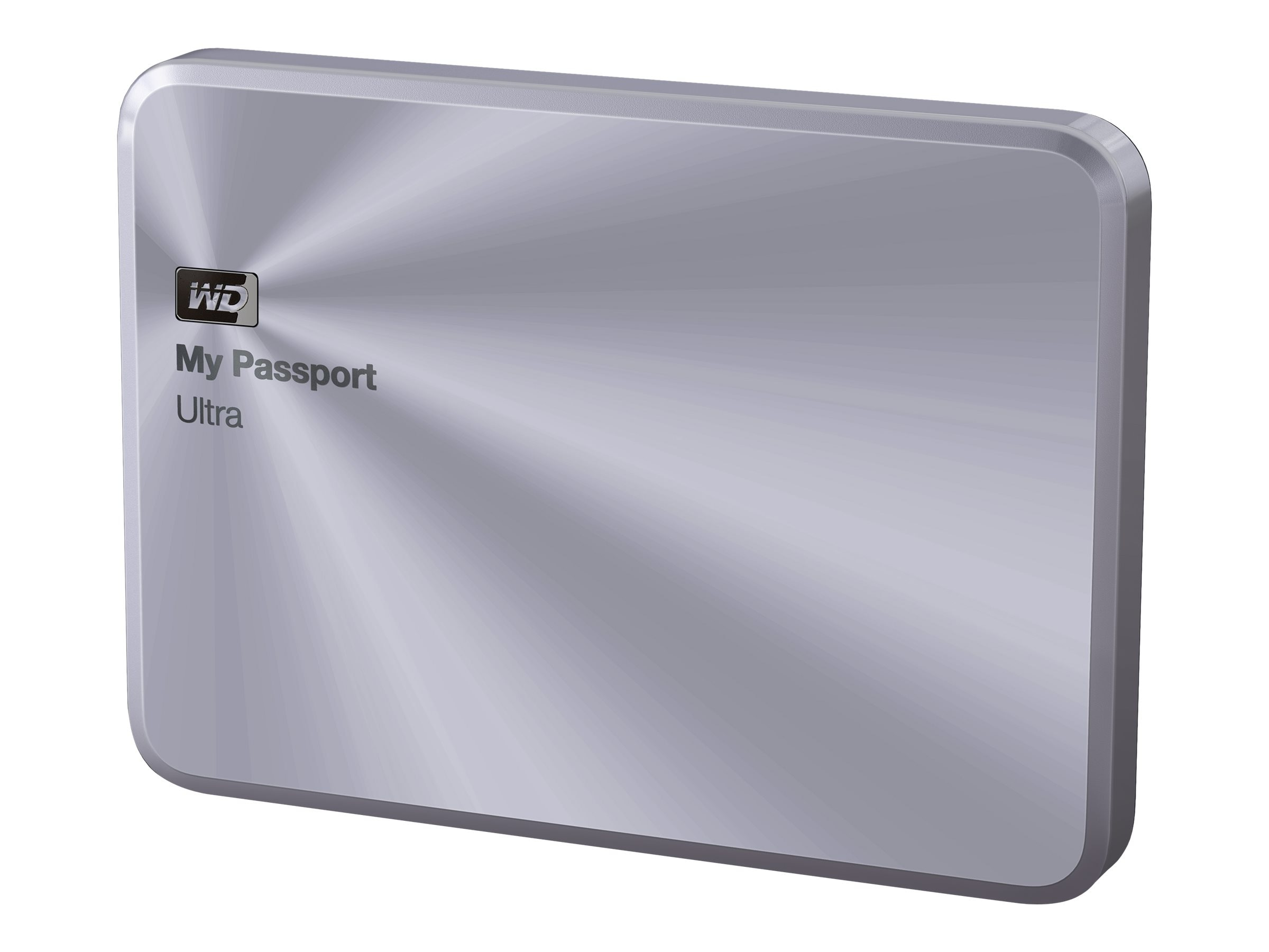 WD 1TB My Passport Ultra Metal Edition USB 3.0 Portable Hard Drive - Silver, WDBTYH0010BSL-NESN, 17654959, Hard Drives - External