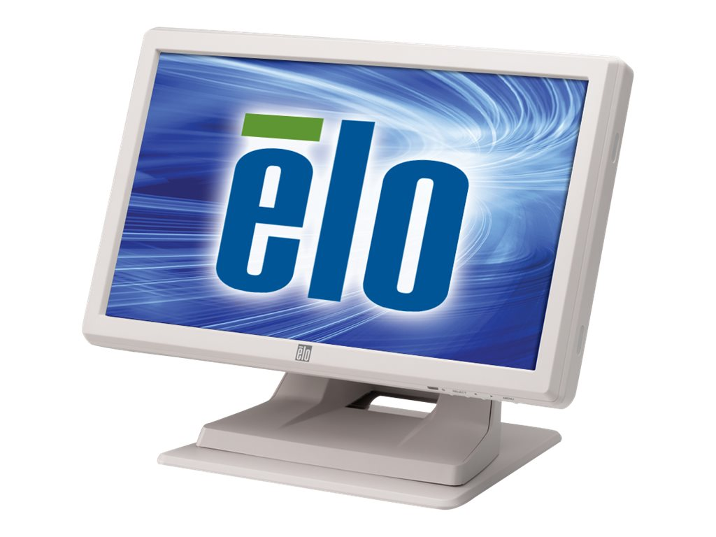 ELO Touch Solutions 1519LM 15.6 LCD IntelliTouch Dual Serial USB, White (NC NR), E561587, 19021784, POS/Kiosk Systems