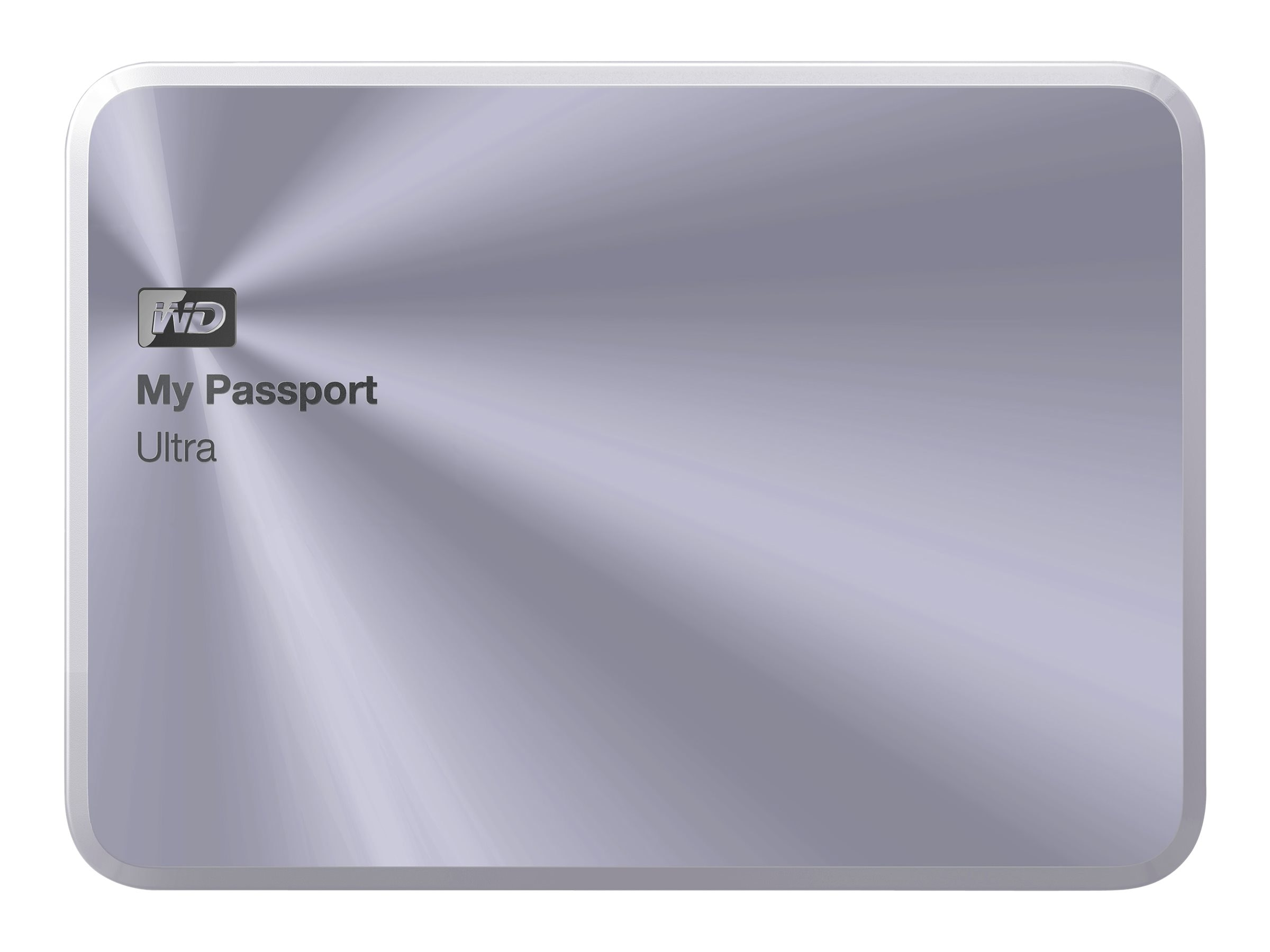 WD 4TB My Passport Ultra Metal Edition USB 3.0 Portable Hard Drive - Silver, WDBEZW0040BSL-NESN