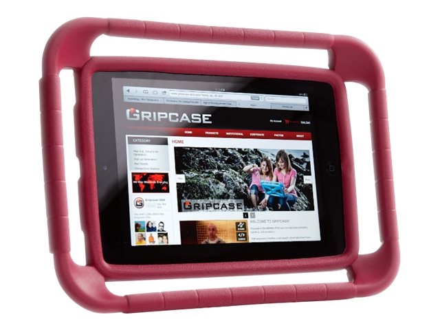 Gripcase Case for iPad Air, Red
