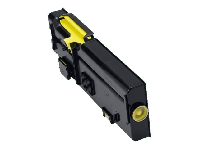 Dell 4000-page Yellow Toner Cartridge for Dell C266XDN DNF (593-BBBR), 2K1VC, 16826683, Toner and Imaging Components
