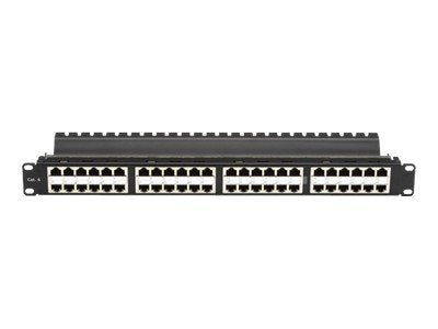 Black Box CAT6 High-Density Feed-Through Patch Panel, JPM816A-HD, 11522293, Patch Panels