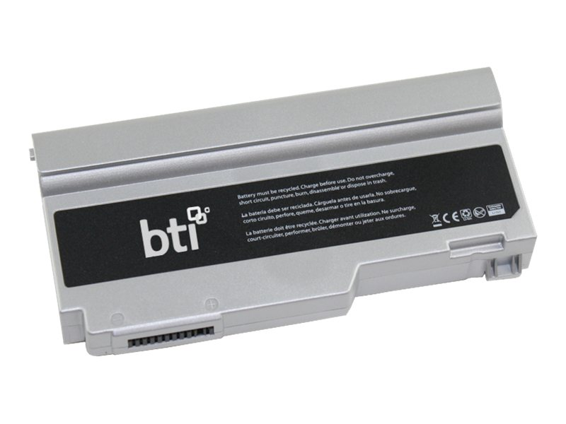 BTI Li-Ion Battery for Panasonic Toughbook CF-W4, PA-CFW4, 15386014, Batteries - Other