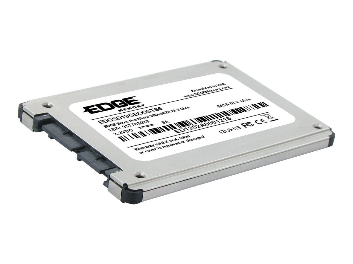 Edge 240GB Boost Pro Micro SATA 6Gb s 1.8 Internal Solid State Drive, PE236915, 15278996, Solid State Drives - Internal